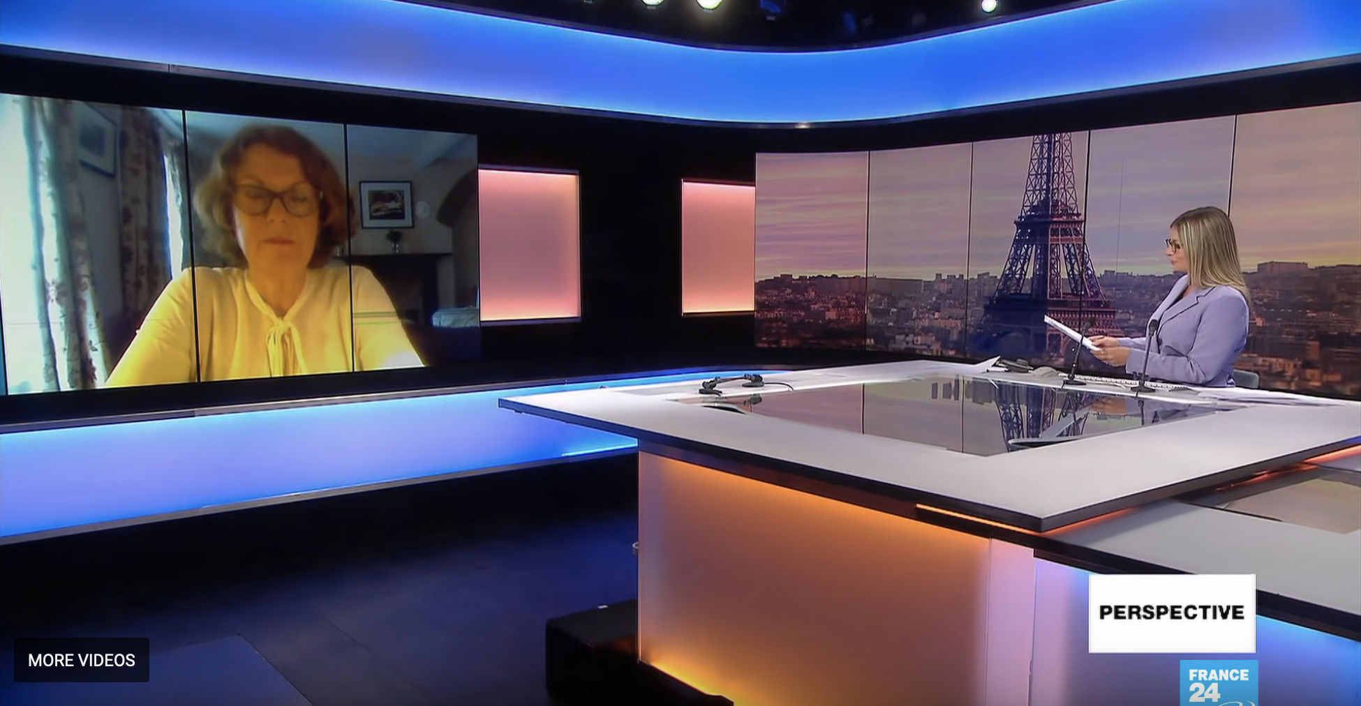 Susan McKay on Perspective, France 24
